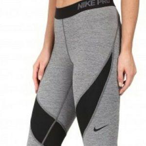 Nike Pro grey and black leggings